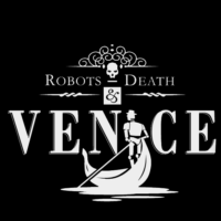 Robots, Death And Venice - Logo